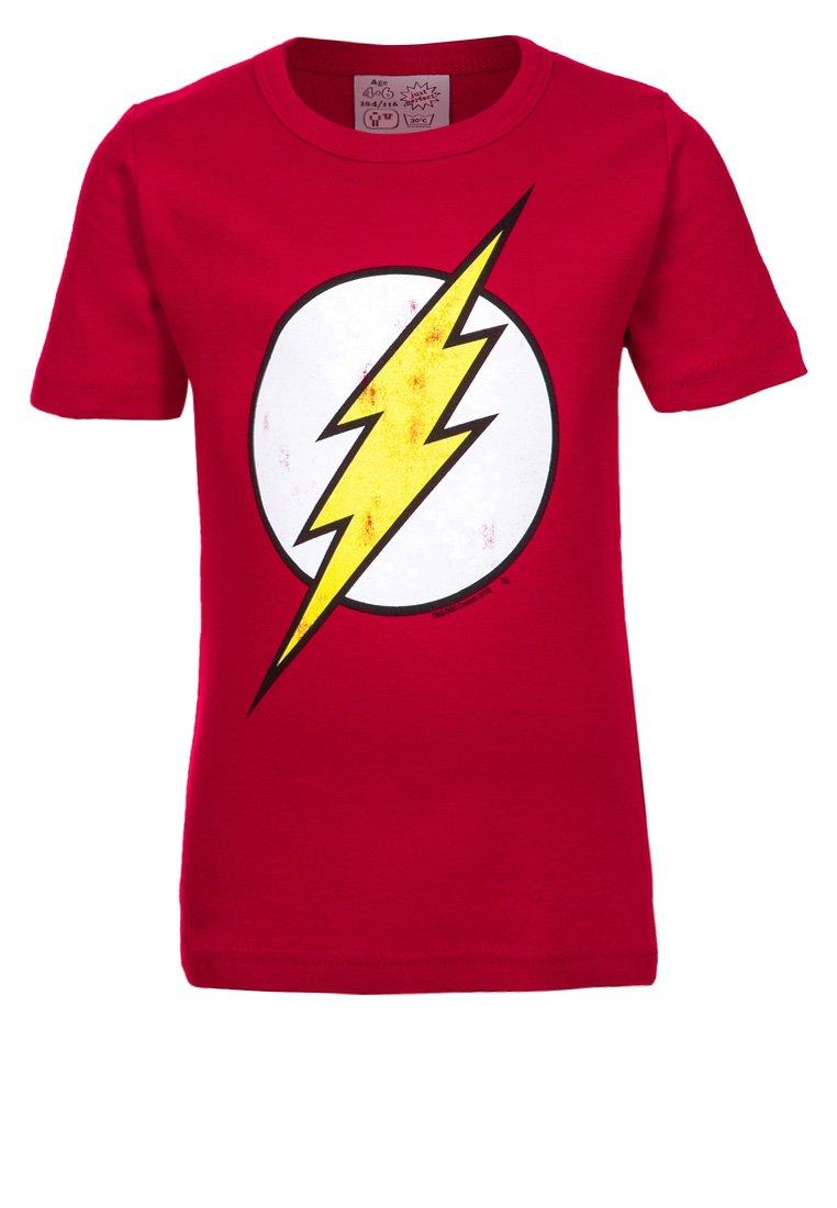 LOGOSHIRT - Print T-shirt - rot