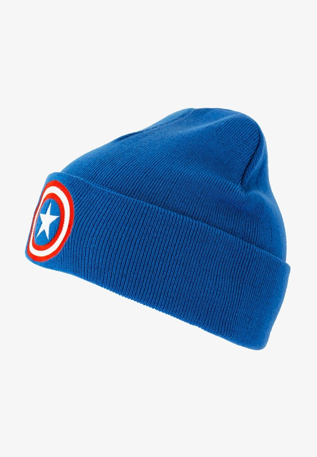 CAPTAIN AMERICA - Beanie - blau
