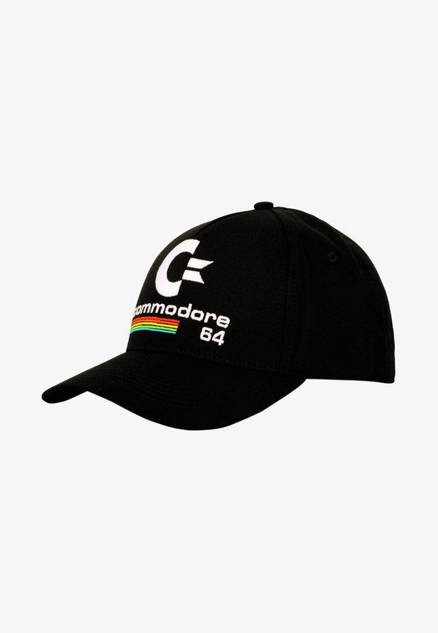 MIT OLDSCHOOL-LOGO - Cap - black