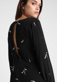 See u Soon - DRESS - Sukienka letnia - black/silver - 5