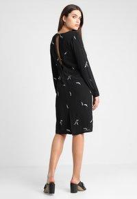 See u Soon - DRESS - Sukienka letnia - black/silver - 3