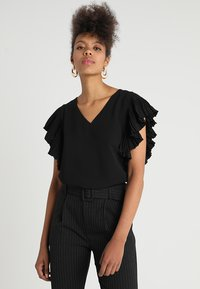 See u Soon - BLOUSE - Bluzka - black - 0
