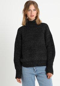 See u Soon - Sweter - black - 0