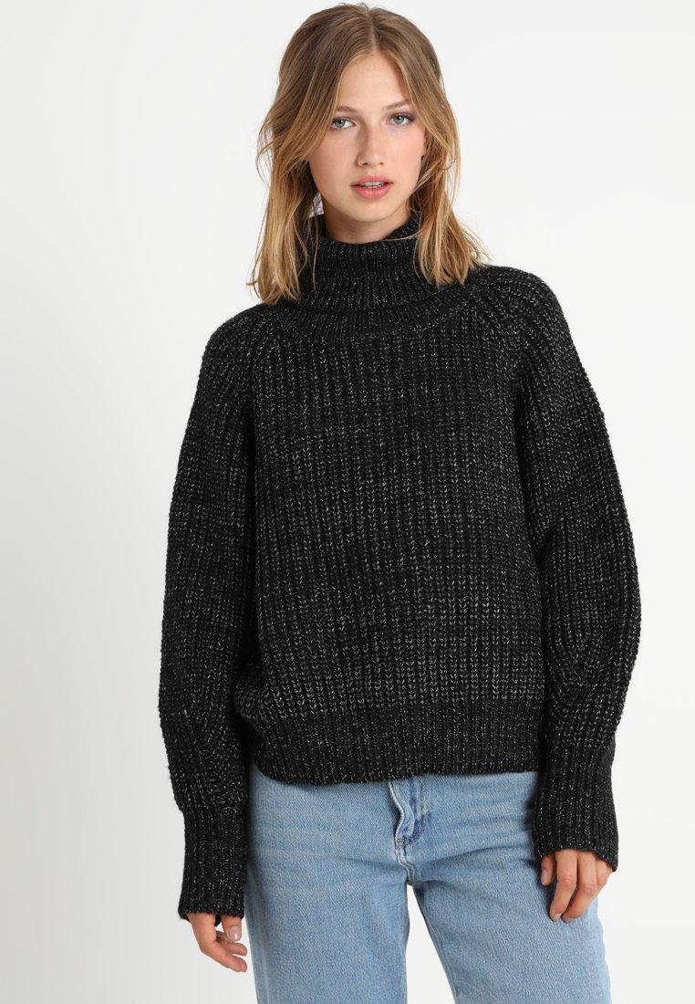 See u Soon - Sweter - black