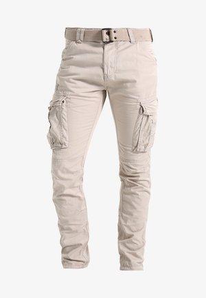 TRRANGER - Pantalon cargo - beige