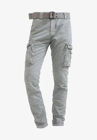 Schott - TRRANGER - Pantaloni cargo - grey - 5