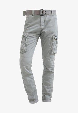 TRRANGER - Pantaloni cargo - grey