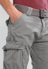 Schott - TRRANGER - Pantaloni cargo - grey - 3
