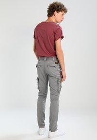 Schott - TRRANGER - Pantaloni cargo - grey - 2