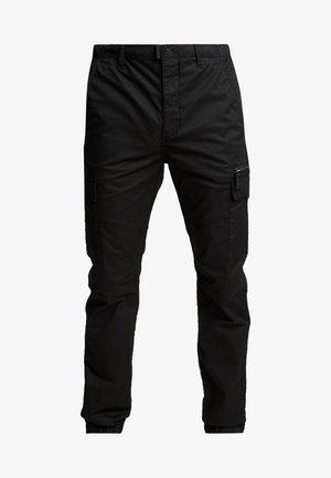 TRTECH - Pantaloni cargo - black