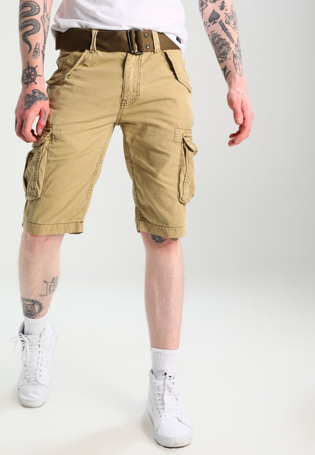 BATTLE - Shorts - army beige