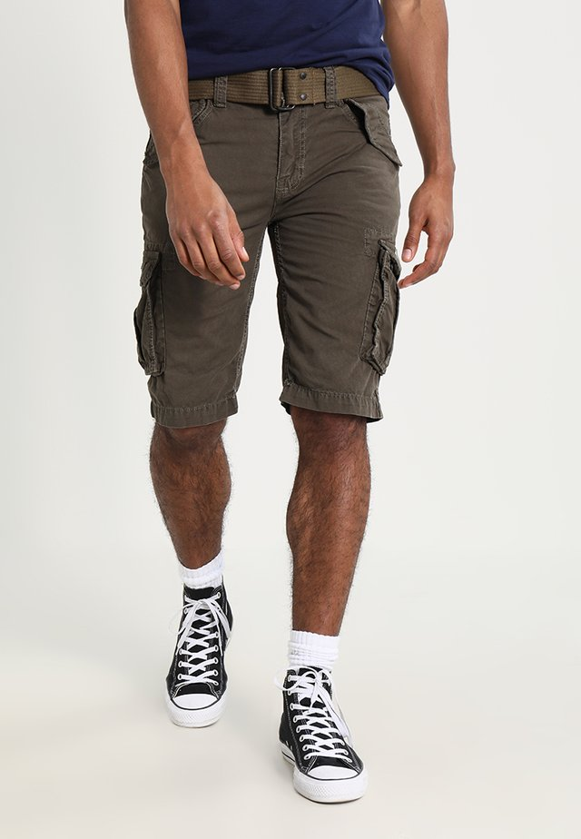 BATTLE - Shorts - olive