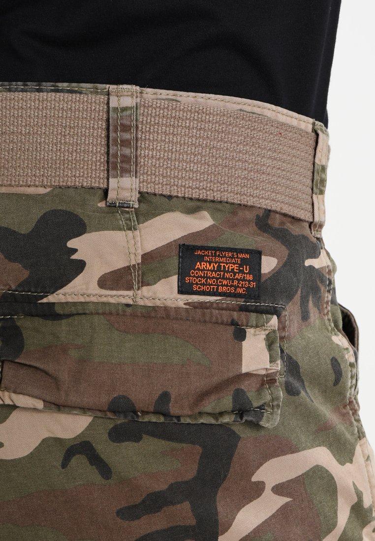 Schott RANGER - Shorts - khaki