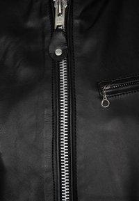 Schott - Veste en cuir - black - 5
