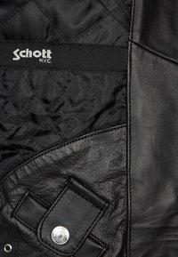 Schott - Veste en cuir - black - 6