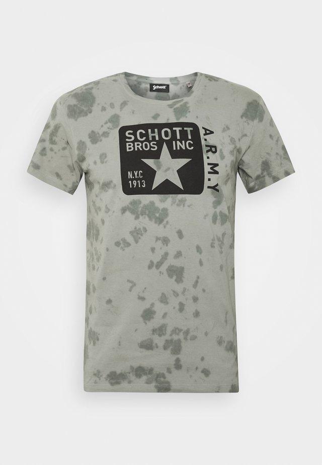 T-Shirt print - kaki