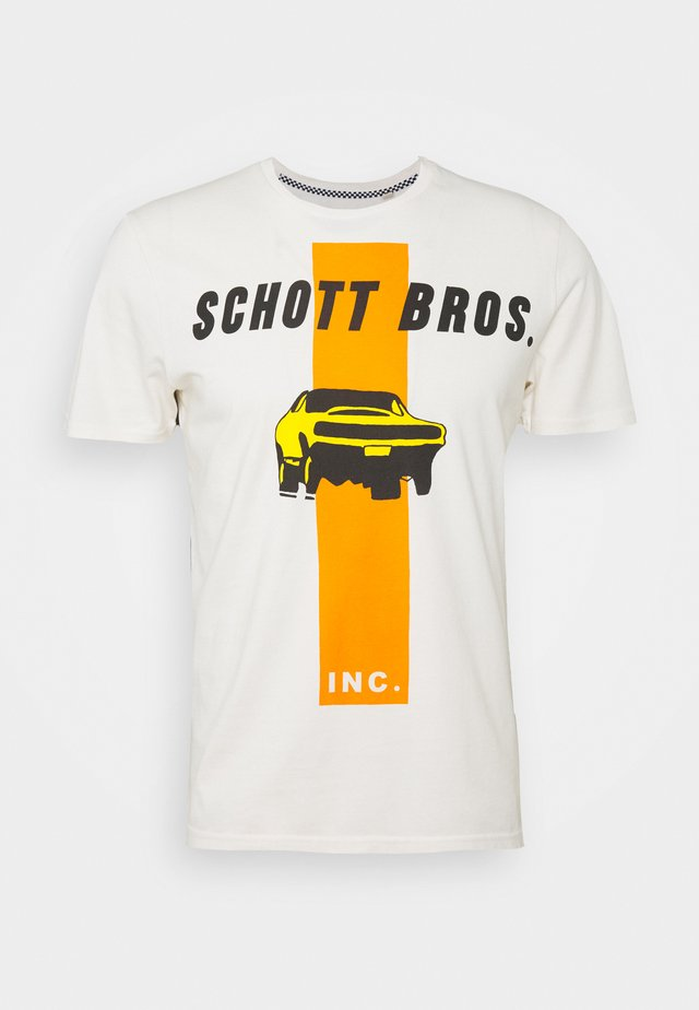 ZACK - Print T-shirt - off-white