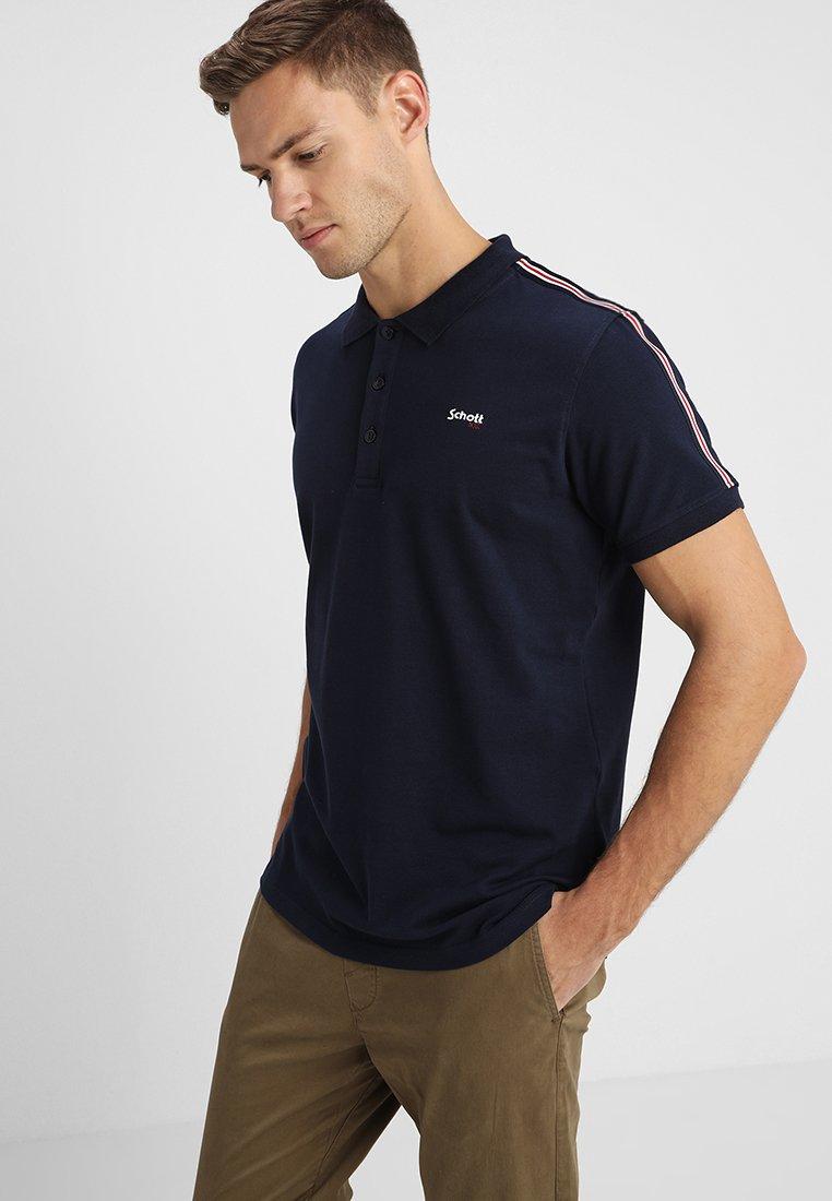 Schott - NASH - Polo shirt - navy