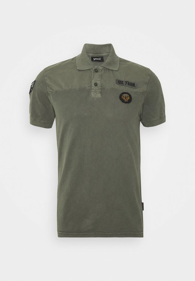 Polo shirt - sage kaki