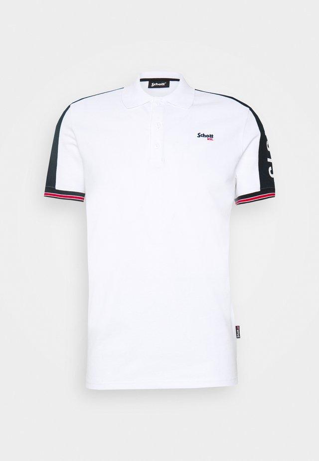 Poloskjorter - white/navy