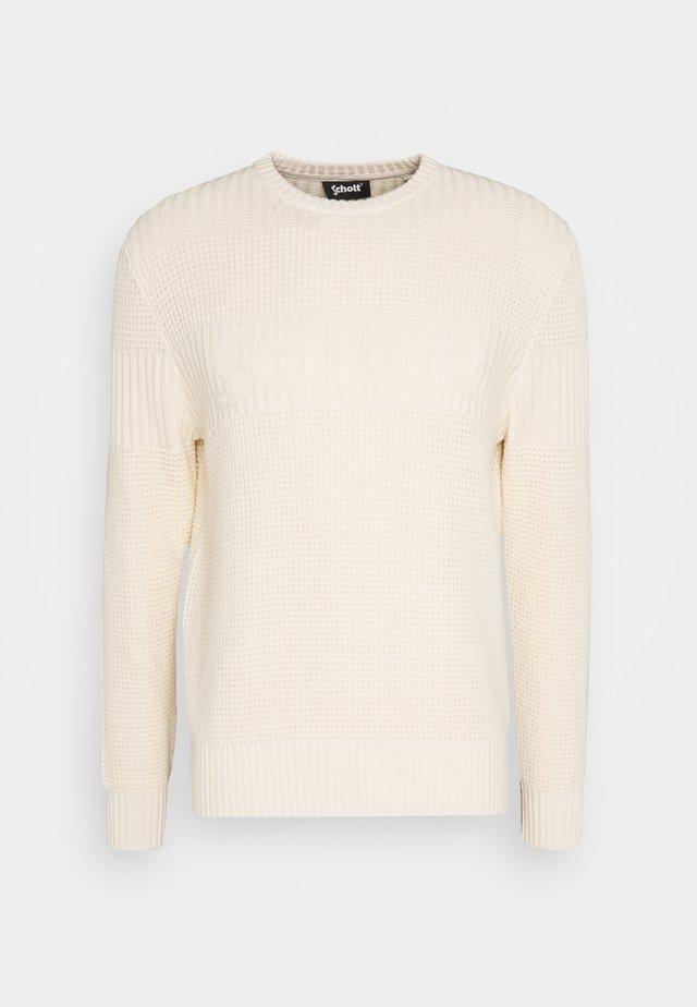 ELIOT - Stickad tröja - offwhite