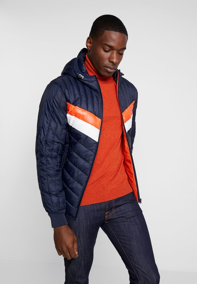 COLORADO - Übergangsjacke - navy/ orange/ white