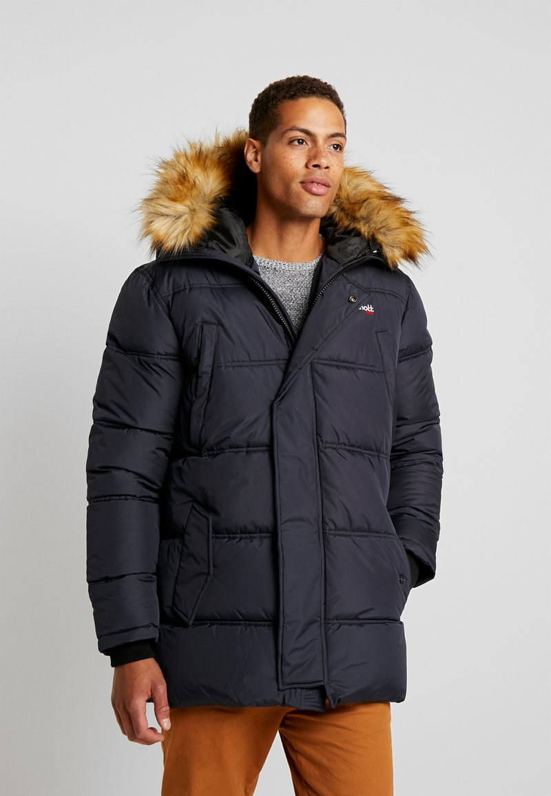 Schott - AIR - Wintermantel - navy