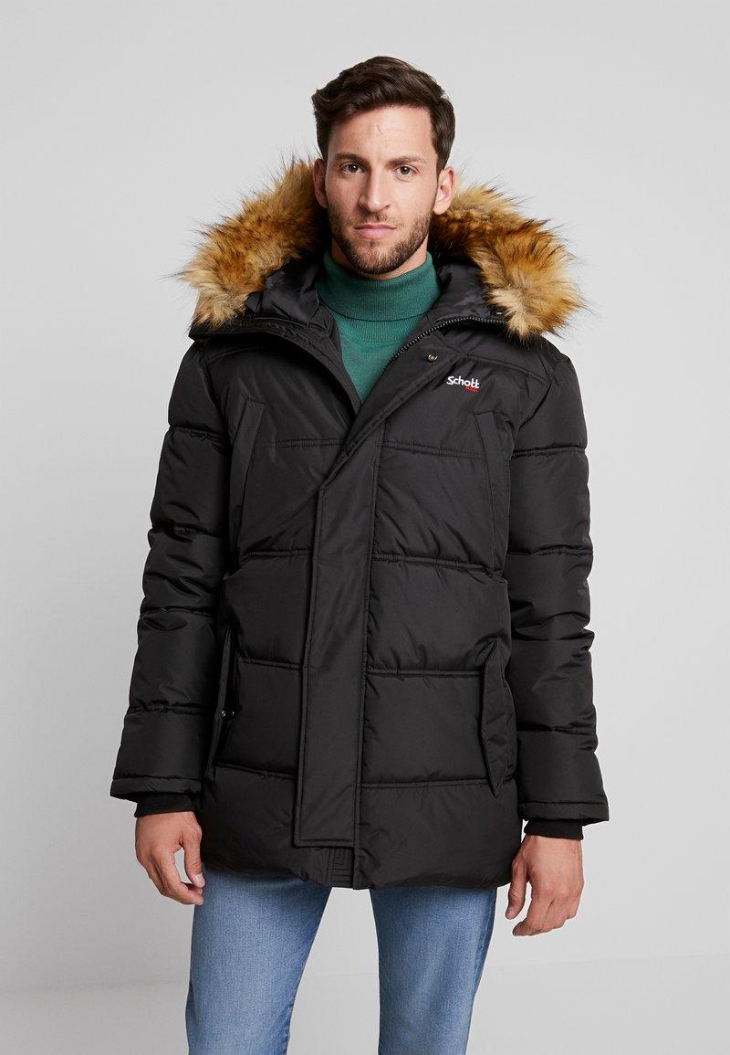 Schott - AIR - Zimní kabát - black