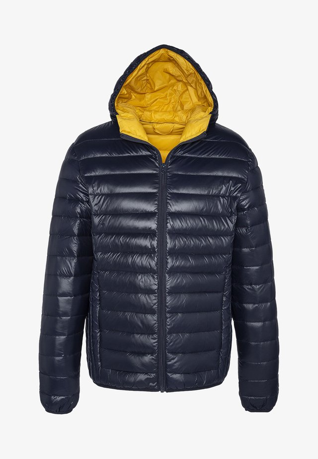 Winterjacke - shiny navy