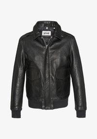 Schott - Veste en cuir - black - 0