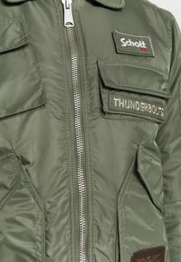 Schott - Bomber Jacket - sage kaki - 7