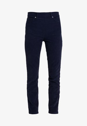 JEANETT TROUSERS - Tygbyxor - dark blue
