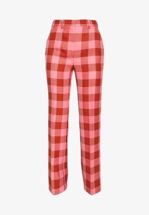 BROOKE GRUNGE - Pantalon classique - flamingo pink