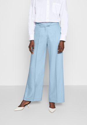 CHRISSY THINKTWICE - Trousers - cashmere blue
