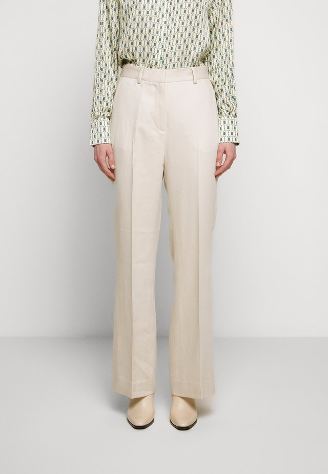 2ND ANNIE THINKTWICE - Spodnie materiałowe - broken white