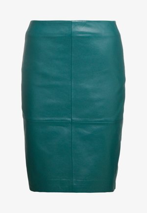 CECILIA - Pencil skirt - posy green