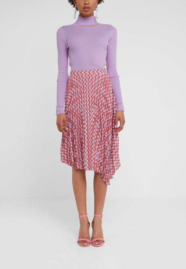 ZSAZSA CIRQUE - A-line skirt - cayenne