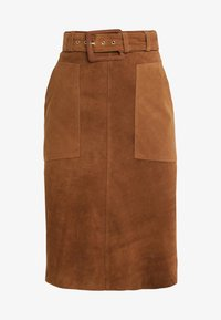 2nd Day - ANGIE - A-line skirt - brown - 3