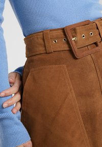 2nd Day - ANGIE - A-line skirt - brown - 4