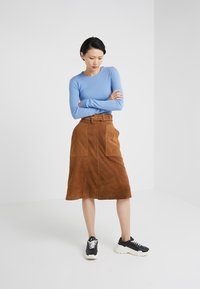 2nd Day - ANGIE - A-line skirt - brown - 1