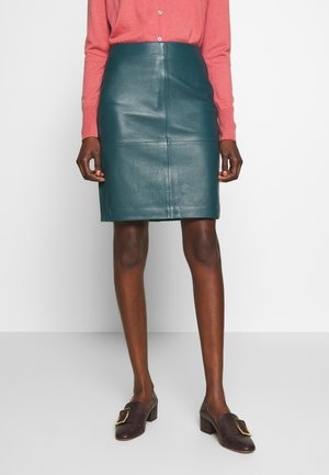 CECILIA - Pencil skirt - atlantic deep