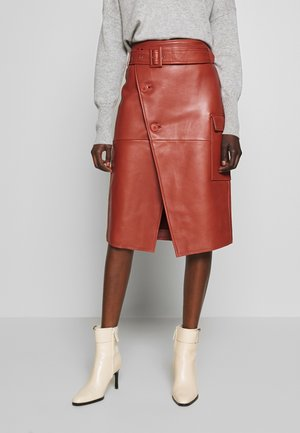 SWAY - Wrap skirt - bruschetta