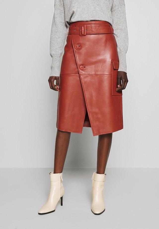 SWAY - Wrap skirt - bruschetta