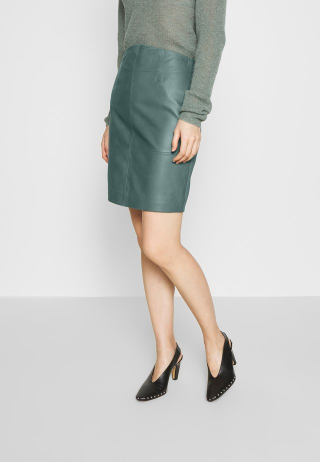 ELECTRA - Pencil skirt - sagebrush