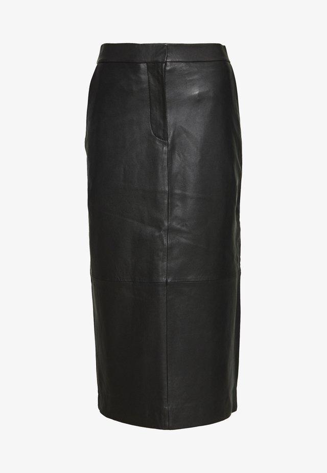 VARITY - Spódnica ołówkowa  - black