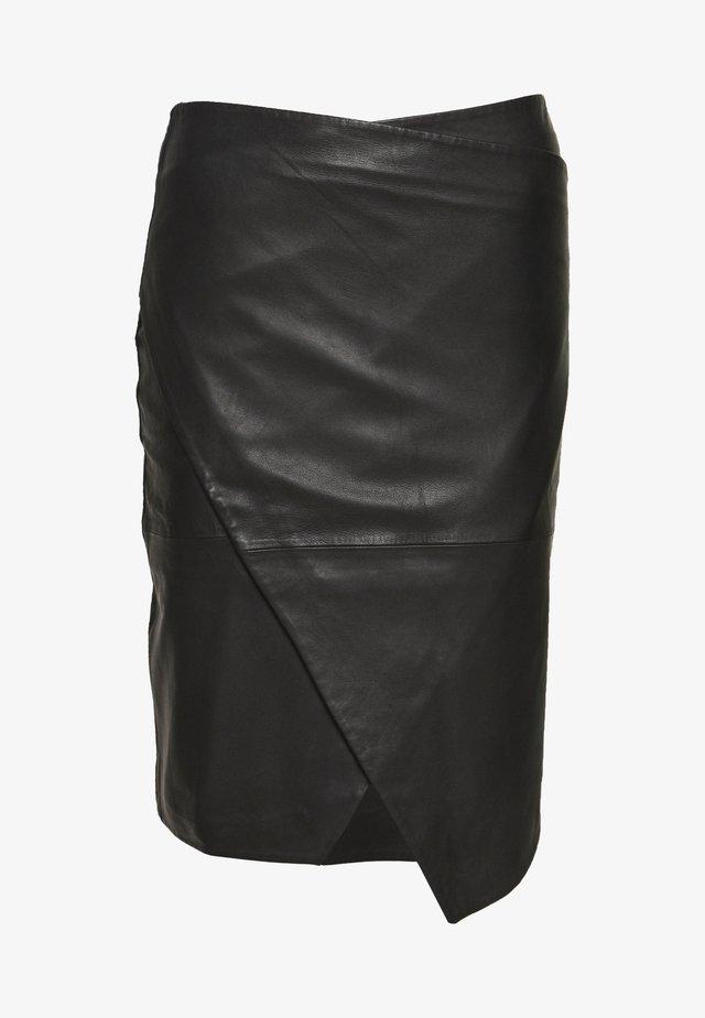ABIGALE - Spódnica ołówkowa  - black
