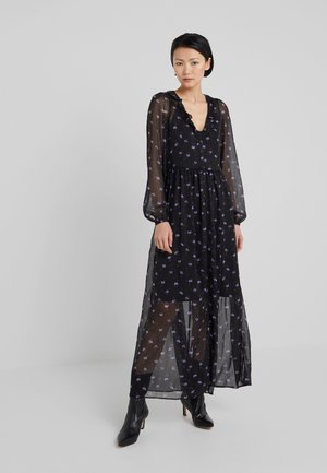 PETRA ANEMONE - Robe longue - black