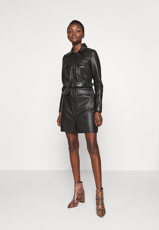 SWAY - Korte jurk - black