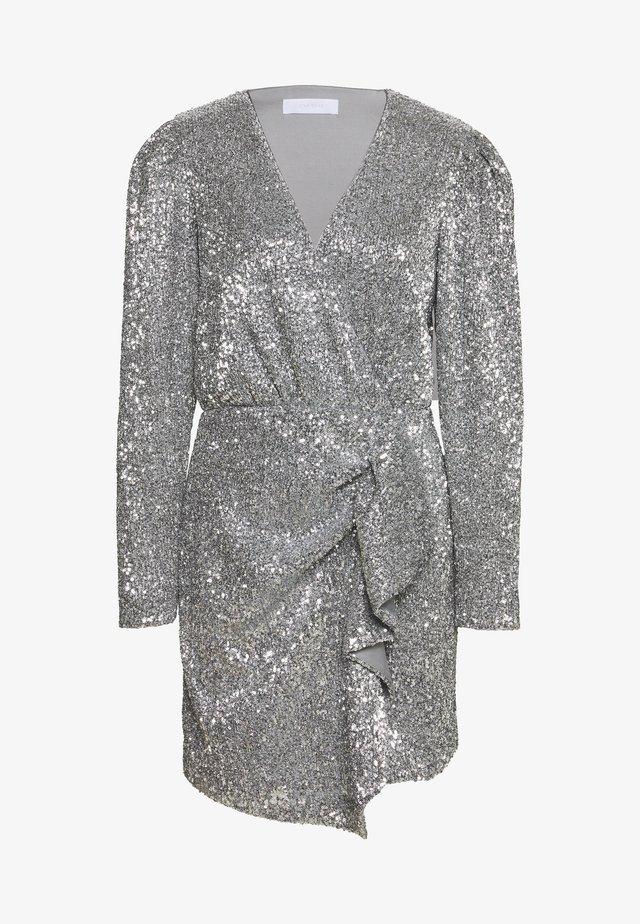 EDITION TRINA - Cocktailkleid/festliches Kleid - silver