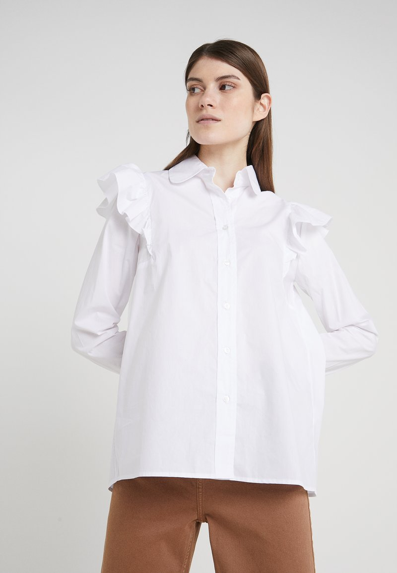 2nd Day - FROLIC - Button-down blouse - star white